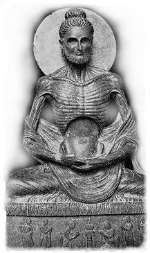 Ascetic Gautama Buddha the Scythian